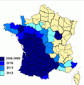 Répartition_vespa_velutina_2013