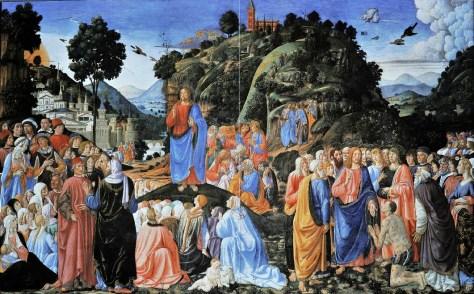 Sermon sur la montagne Rosseli