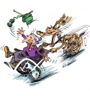 illustration-chien-d-assistance-aux-personnes-agees