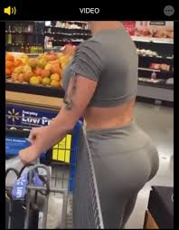 just for fun!! sexy woman buying cucumbers!