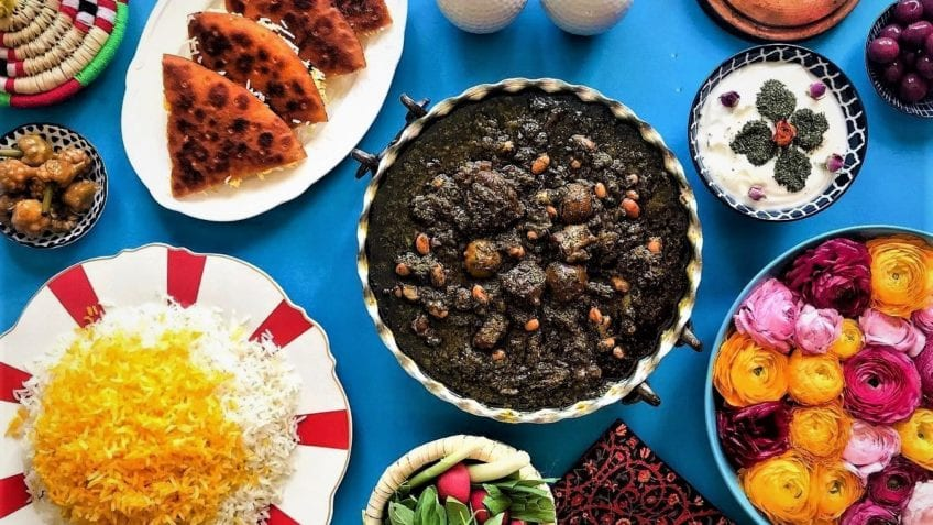 Top 10 Iranian dishes