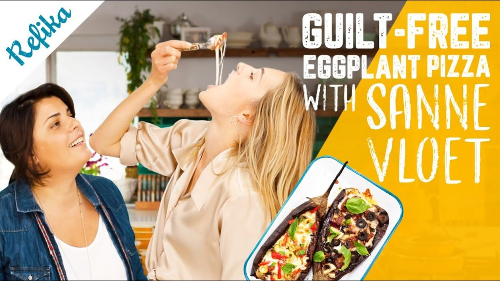 Guilt-Free Eggplant Pizza with @Sanne Vloet | Super Delicious, Easy and Healthy Recipe