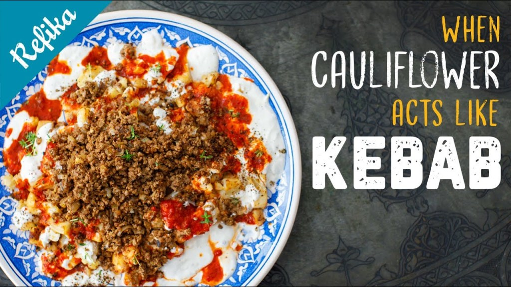Iskender Kebab Inspired Cauliflower Recipe | Easy, Very Delicious and Guilt-Free