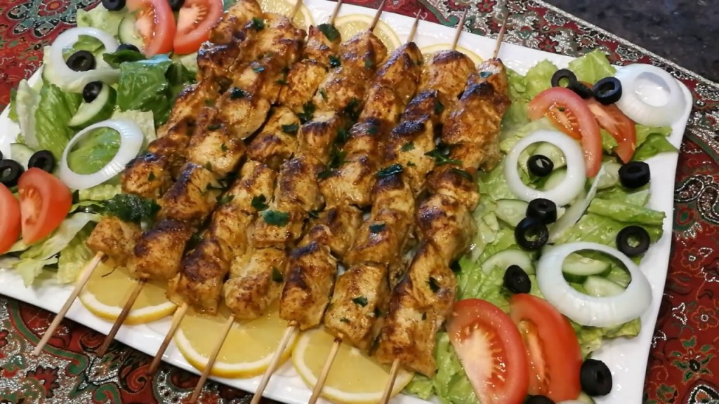 Delicious Chicken Kabob In Oven