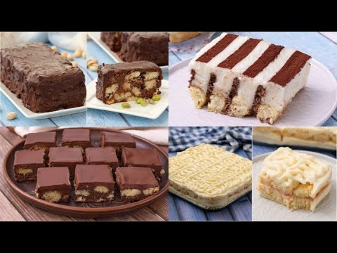 4 Delicious desserts that you can prepare with ladyfingers!