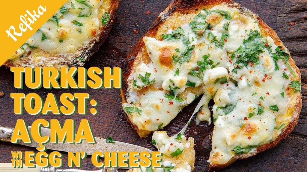 Read more about the article Comfort Food for New Year's Weekend! Turkish Toast Recipe: Açma with Egg N' Cheese