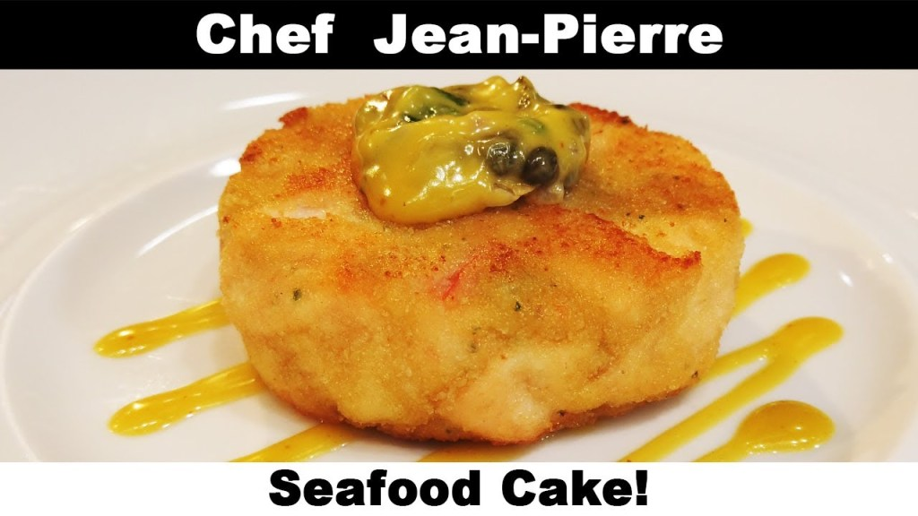 UNBEATABLE Seafood Cake! Chef Jean-Pierre