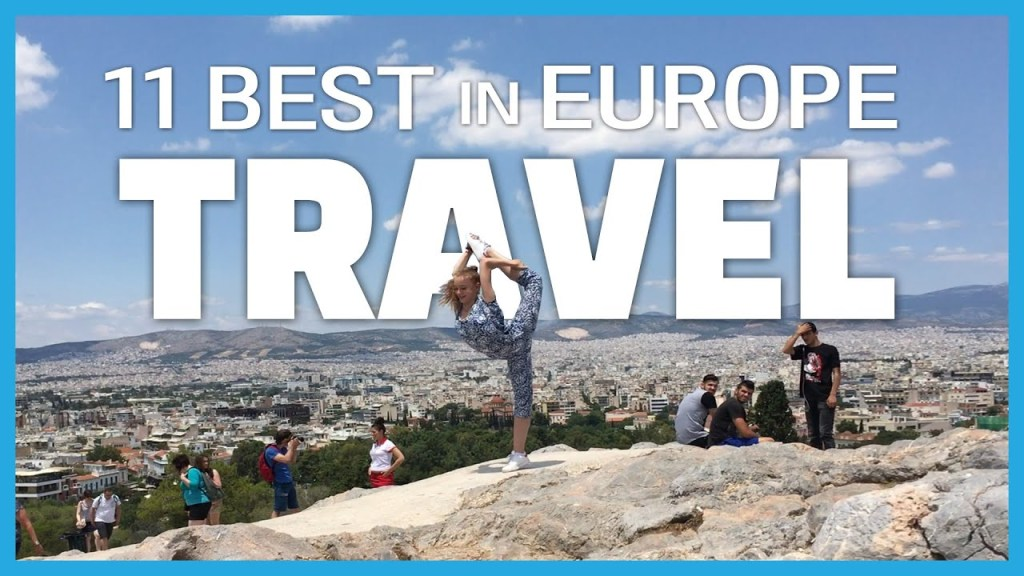 BEST Places to Travel in Europe in 220 Seconds