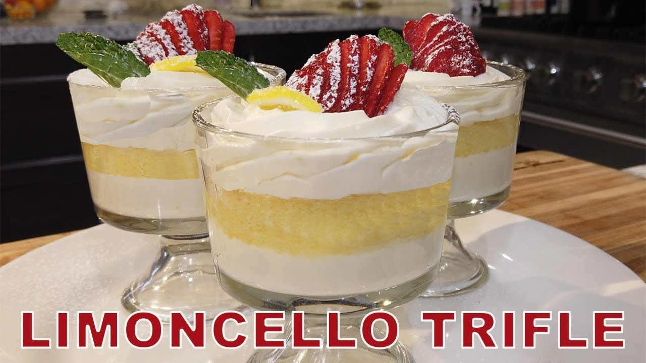 Read more about the article Easy Limoncello Trifle – Chef Jean-Pierre