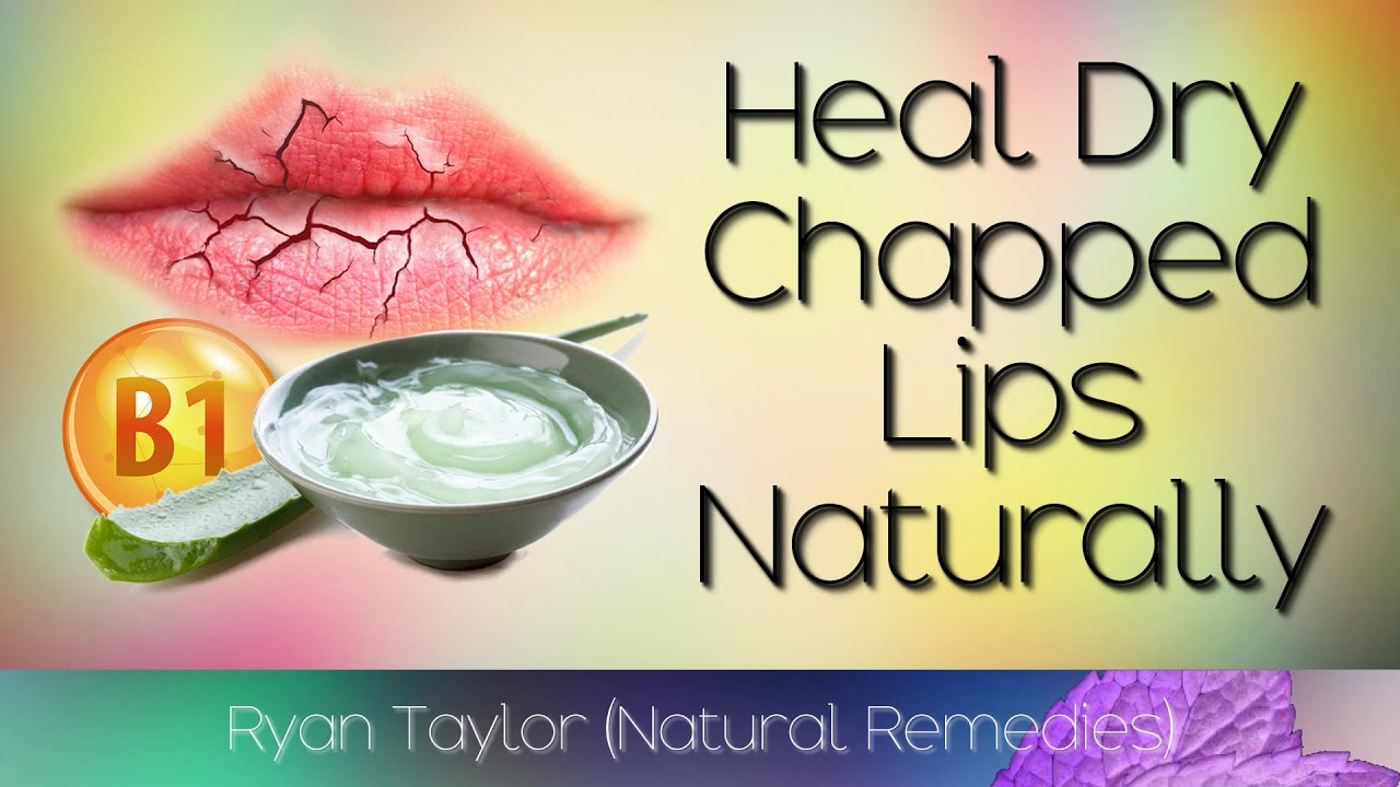 How To Cure Chapped Lips Fast (Natural Remedies)
