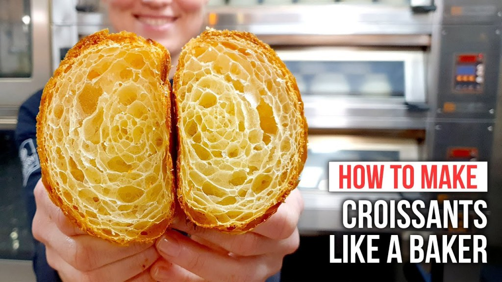 How to Make CROISSANTS Like a Pastry Chef