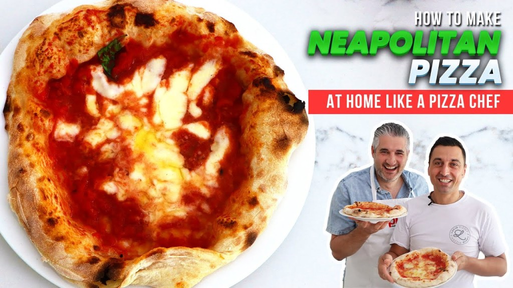 How to Make NEAPOLITAN PIZZA DOUGH at Home Like a Pizza Chef