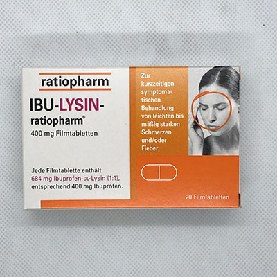 Ibulysin 400 ratiopharm Tabletten 20