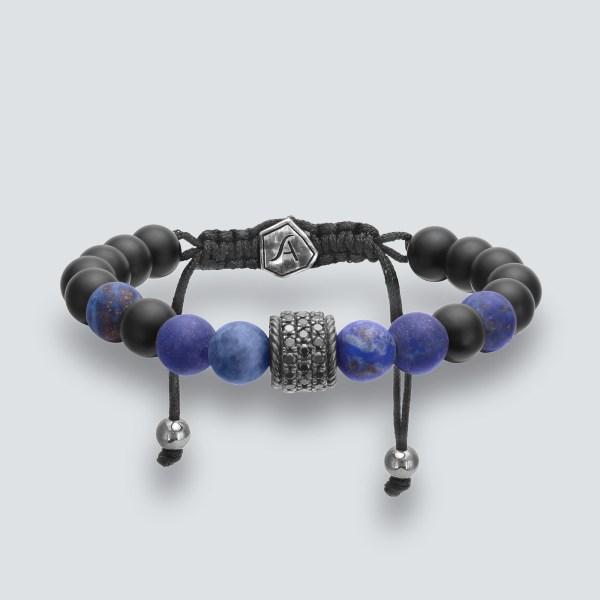 Pave' Bead Bracelet
