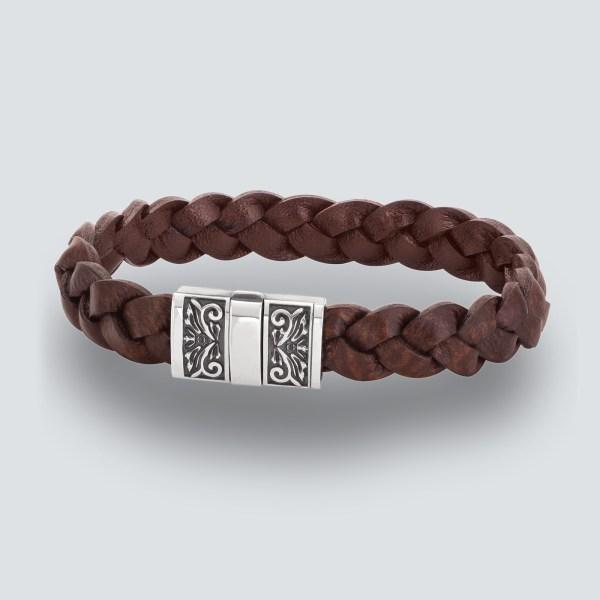 Hand Engraved Clasp Bracelet