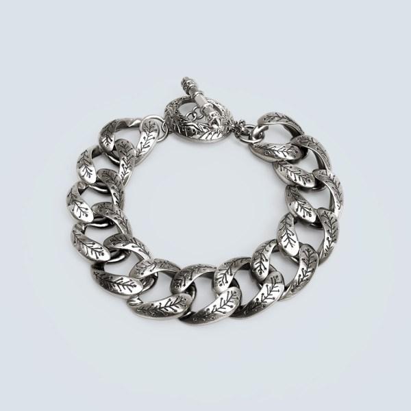 Sparta Engraved  Chain Bracelet