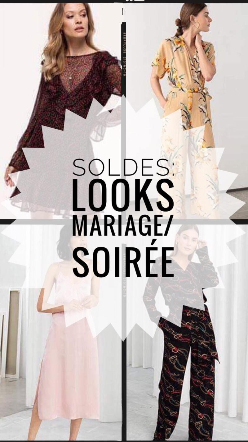 SOLDES: Looks pour un mariage/une soirée