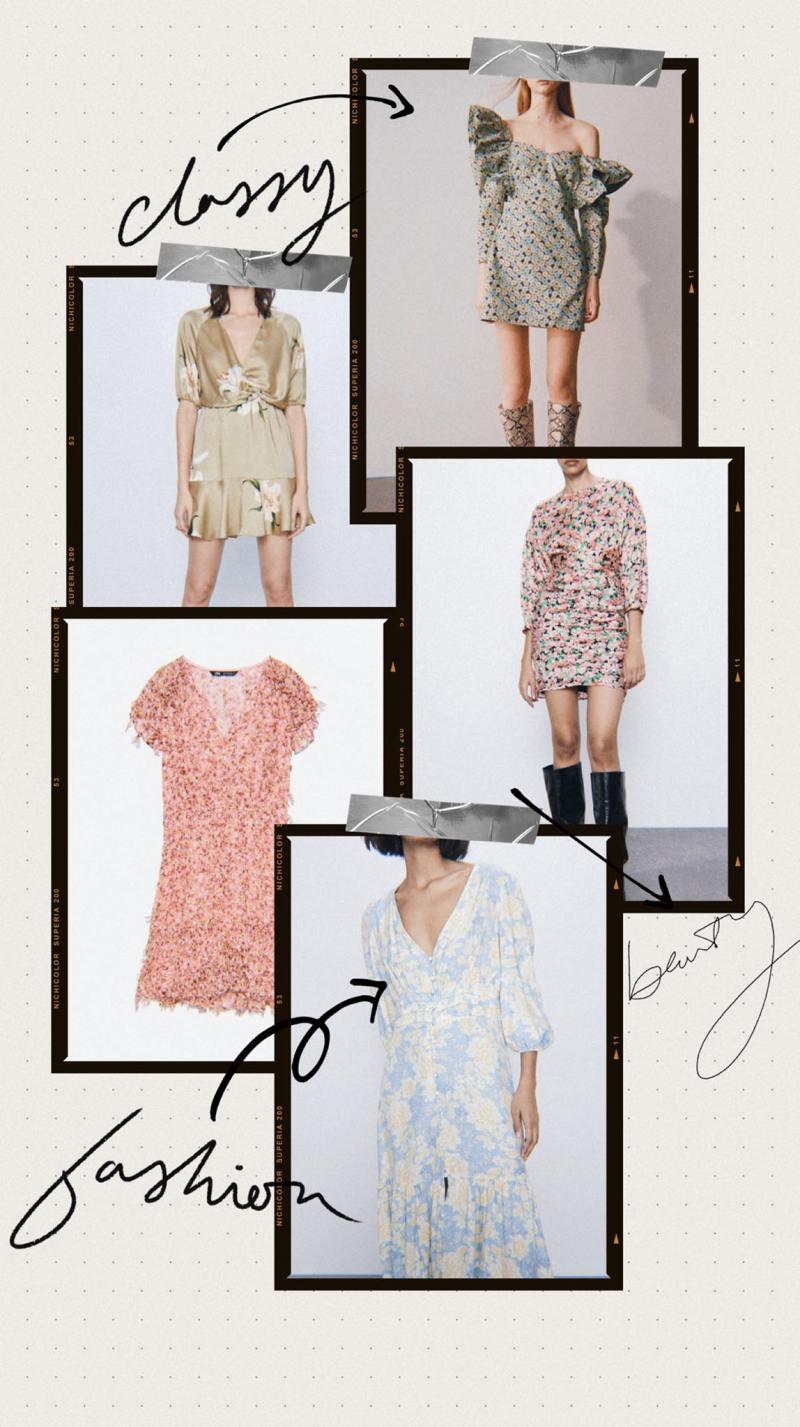 Selection of ZARA dress at -50