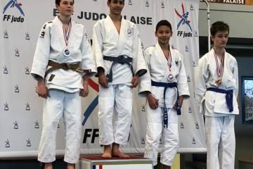 Le week-end dernier, trois judokas ont représentés le club au circuit cadets / minimes à Falaise :