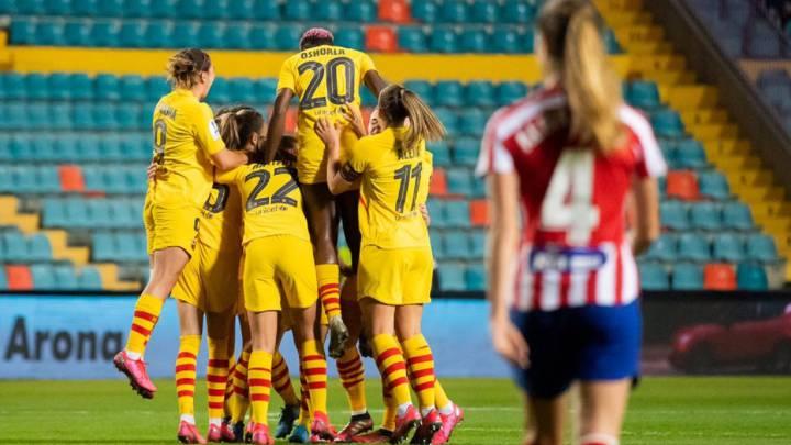 Atlético 2-3 Barcelona: resumen, goles y resultado del partido - AS.com