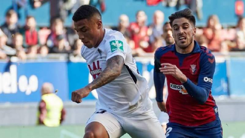 Osasuna 0-3 Granada: resumen, goles y resultado del partido - AS.com