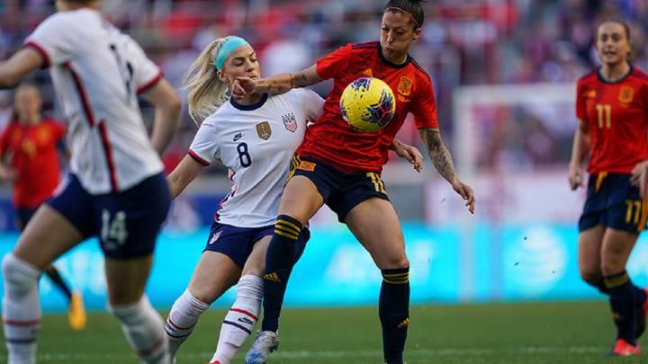 Estado Unidos 1-0 España: resumen, resultado y goles de la SheBelives Cup -  AS.com