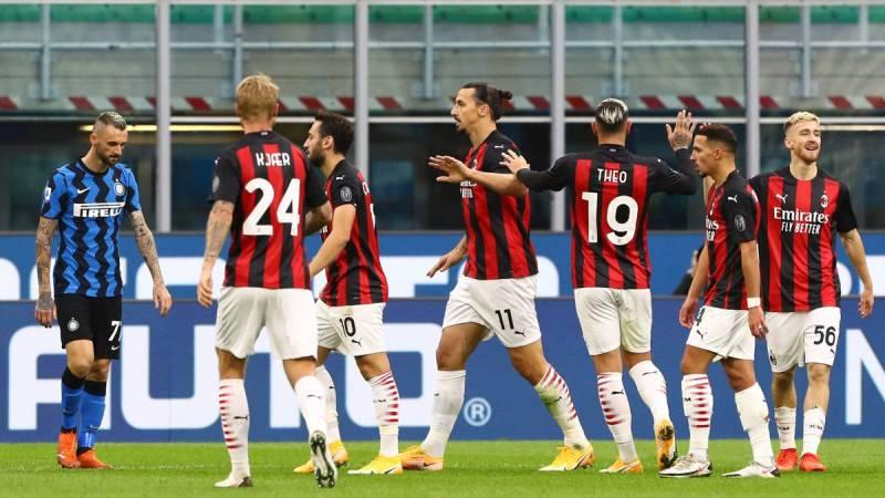 Resumen y goles del Inter vs. Milan de la Serie A - AS.com