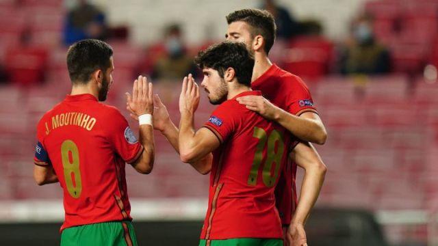 Portugal 7 - Andorra 0: resumen, goles y resultado del partido - AS.com