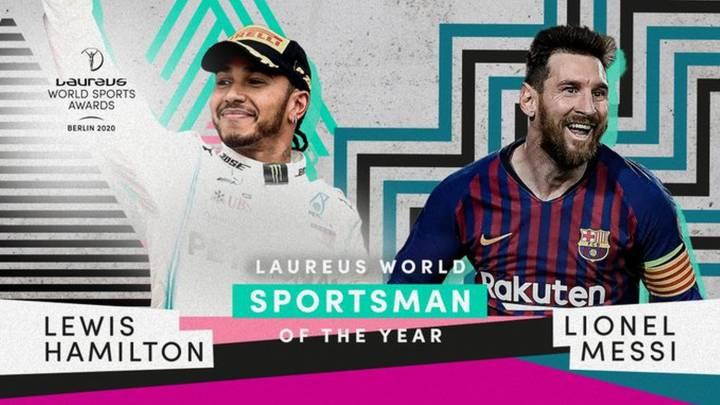 Lewis HamiltonyLionel Messi