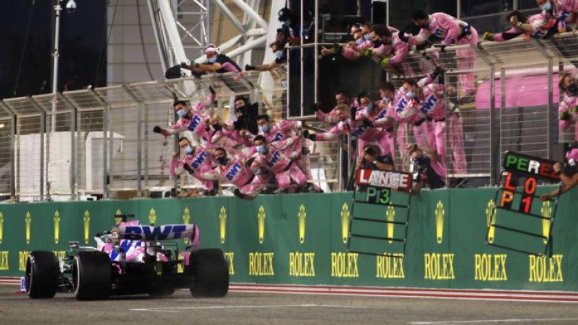 F1   GP de Sakhir: Remontada gloriosa de Checo - AS.com