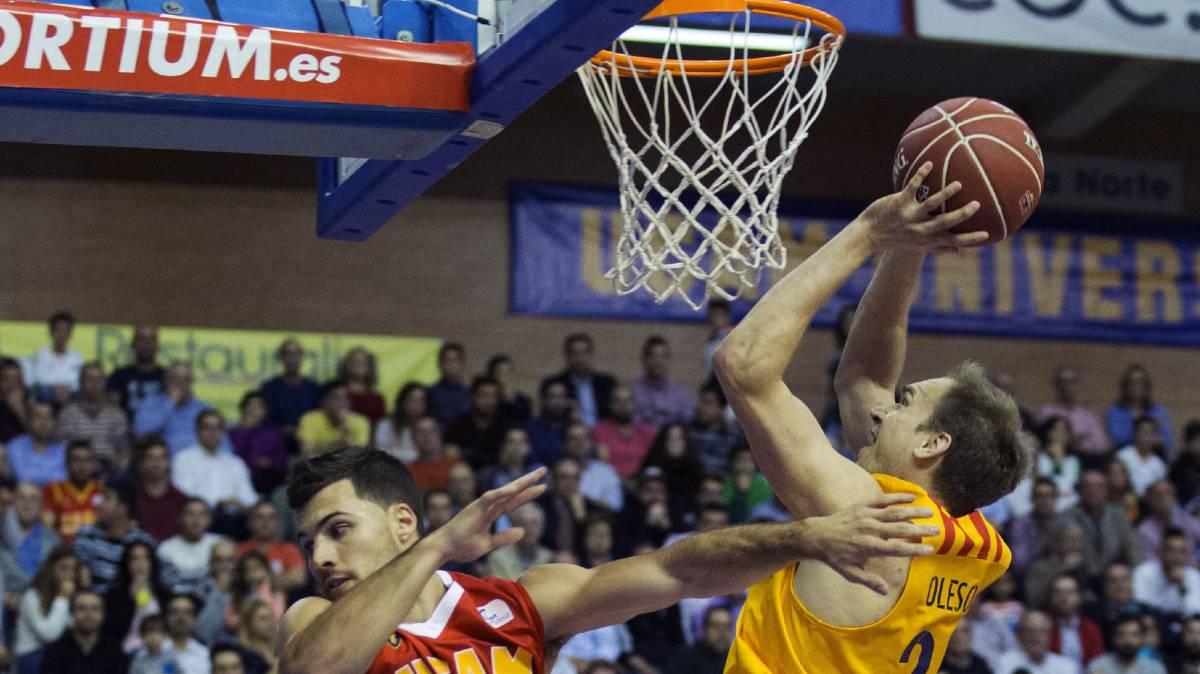 Resultado de imagen de barcelona vs murcia basket