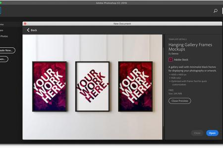 Creative templates for design apps   Photoshop  Indesign     Master Artists for Motion Graphics