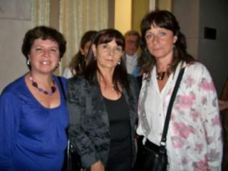 Lita Alberstein, Susana Trimarco y Vilma Ripoll, es, cuando se cumplieron los 10 años de la desaparición
