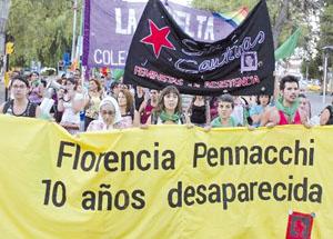 Nqn - Marcha Florencia Pennacchi 10 años - Juan Thomes