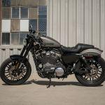 Harley Davidson Roadster Moto Sportster Andar De Moto
