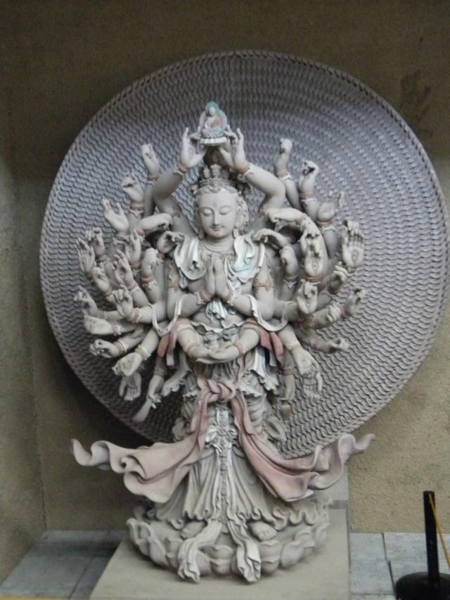 Chinese sculpture: Thousand-hand Guan-Yin