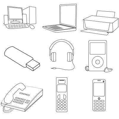 Computers, headphones, cell phones, Ipads-- Students have been challenged to unplug for a week.