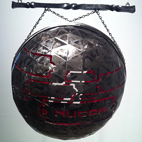 Sculpture by graduate student Kelly Shannon
