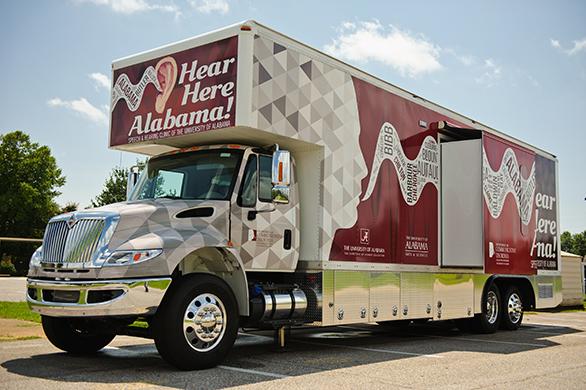 Hear Here Alabama bus