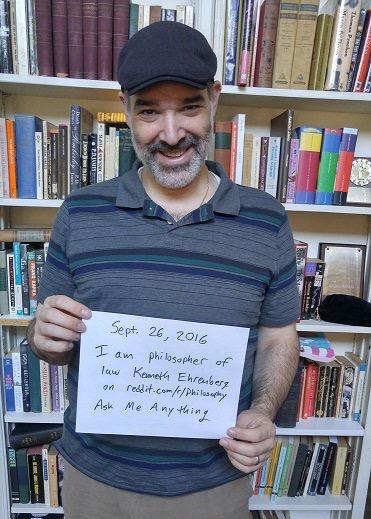 """Philosophy professor fields questions on Reddit's """"Ask Me"""