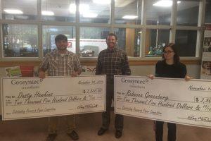Winners of the Geosyntec Award