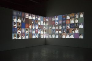 Withstandley's video installation