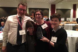 Rebecca Salzer wins Presidential Research Award