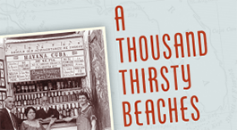 Book cover titled A Thousand Thirsty Beaches