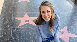 Bethany Patterson on the Hollywood Walk of Fame