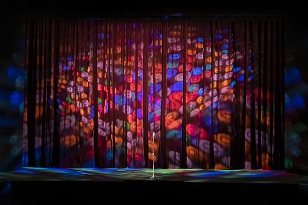 a theater curtain