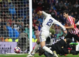 Morata, marcando el gol de la victoria el día que cumplía 24