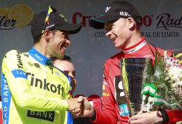 Contador, Froome, Nibali y Quintana, en la Tirreno