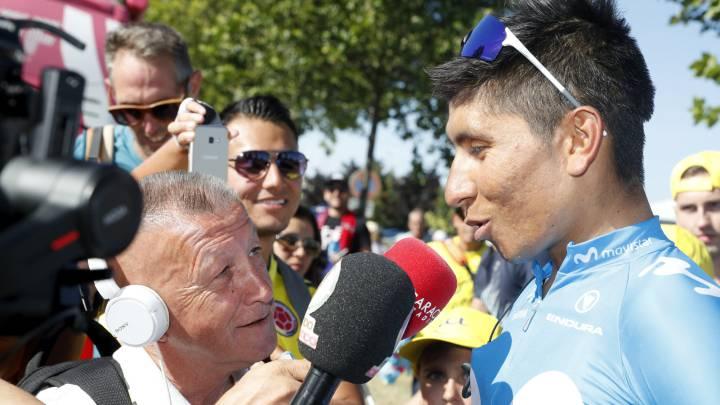 Nairo Quintana llega séptimo en la sexta etapa del Tour de Francia