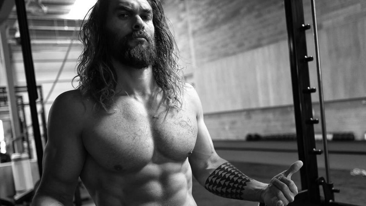rutina de ejercicios de Jason Momoa